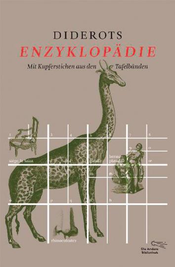 Diderots Enzyklopädie. Mit Kupferstichen aus den Tafelbänden.
