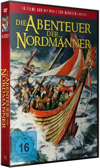 Die Abenteuer der Nordmänner. 5 DVDs.