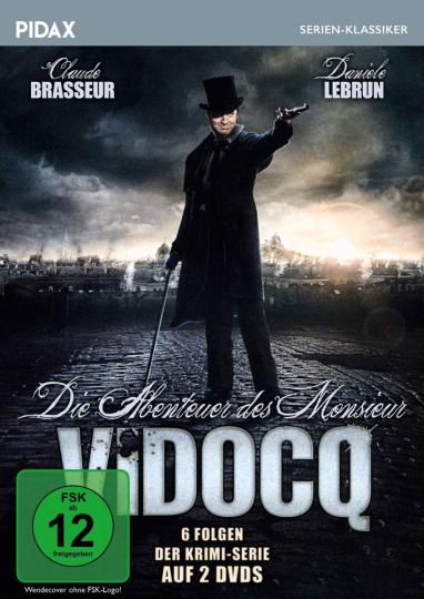 Die Abenteuer des Monsieur Vidocq. 2 DVDs.