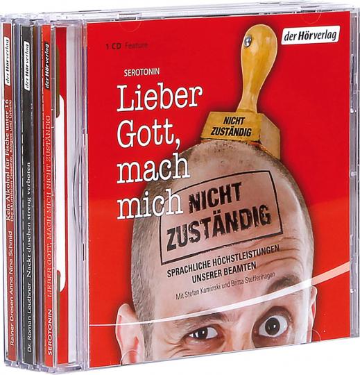 Die absurdesten Gerichtsentscheide und Verordnungen. Unser sträflich komisches Hörspielset mit 3 CDs.