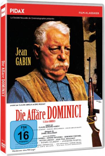 Die Affäre Dominici. DVD.