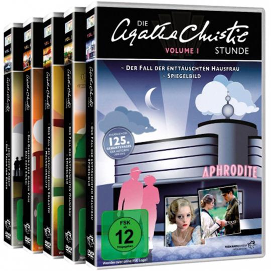 Die Agatha Christie Stunde - Gesamtedition. 5 DVDs.