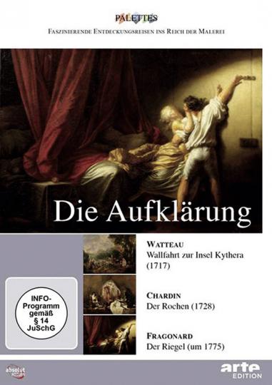 Die Aufklärung - Watteau - Chardin - Fragonard. DVD