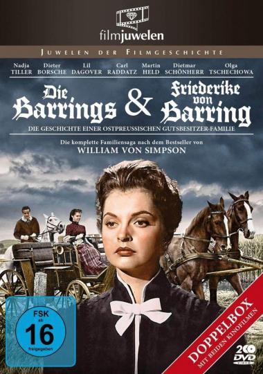 Die Barrings / Friederike von Barring. 2 DVD.