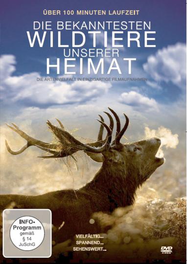 Die bekanntesten Wildtiere unserer Heimat DVD