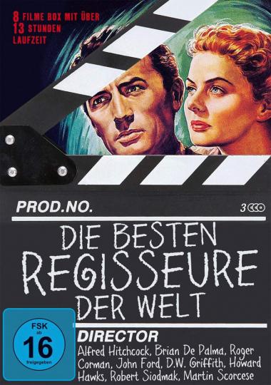 Die besten Regisseure der Welt. 3 DVDs.