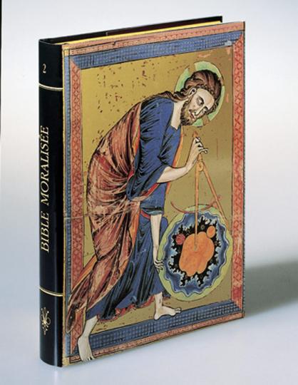 Die Bible moralisée. Mit einem originalen Faksimile-Blatt.