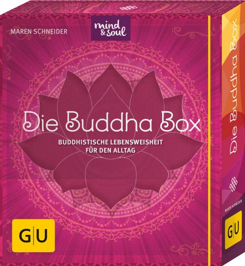 Die Buddha-Box. Buddhistische Lebensweisheit für den Alltag.