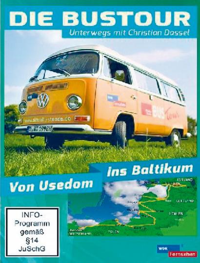 Die Bustour. Von Usedom ins Baltikum DVD