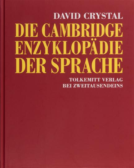 Die Cambridge Enzyklopädie der Sprache.