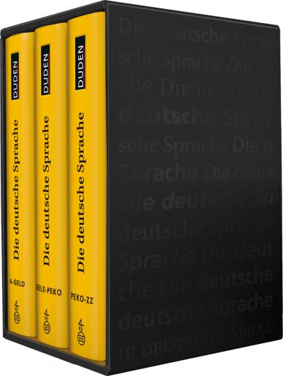 Die Deutsche Sprache. Großes Wörterbuch in drei Bänden.
