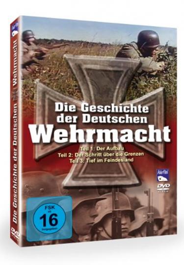 Die Deutsche Wehrmacht 3 DVDs