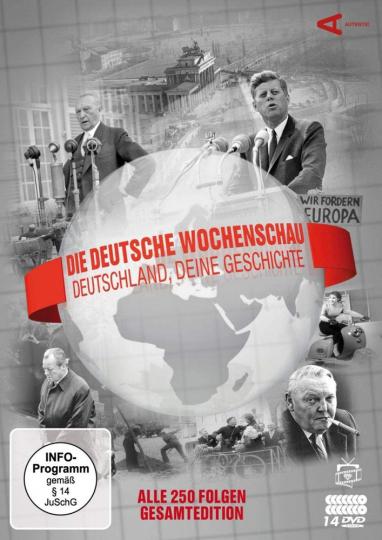 Die Deutsche Wochenschau (Komplettbox). 14 DVDs.
