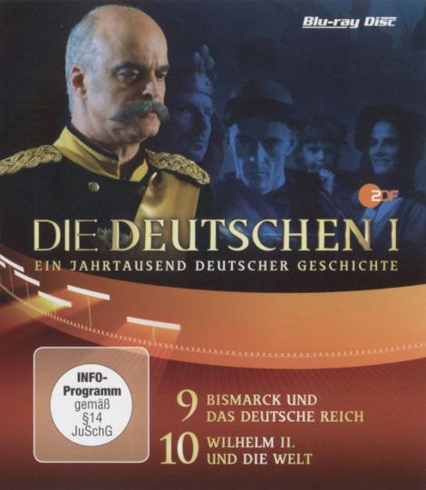 Die Deutschen. Staffel 1, Episode 9 & 10. Blu-ray.
