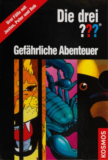 Die drei Fragezeichen (???). Gefährliche Abenteuer. 3 Bde. im Schuber.