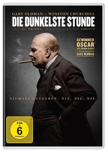 Die dunkelste Stunde. DVD.