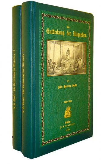 Die Entdeckung der Nilquellen 2 Bände