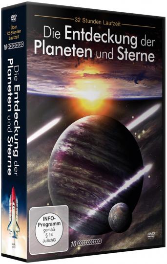 Die Entdeckung der Planeten und Sterne. 10 DVDs.