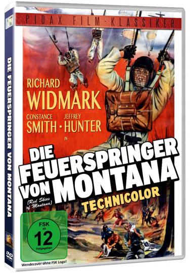 Die Feuerspringer von Montana. DVD.