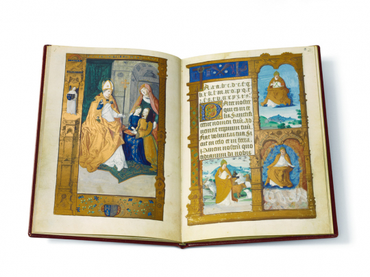 Die Fibel der Claude de France - 2 Bände in Kassette. Auf 980 Exemplare limitiert und numeriert.