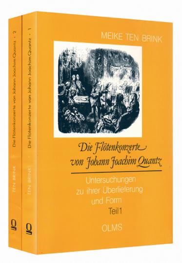 Die Flötenkonzerte von Johann Joachim Quantz - Untersuchungen zu ihrer Überlieferung und Form 2 Bände