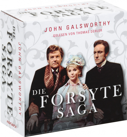 Die Forsyte Saga. Hörbuch. 32 CDs.