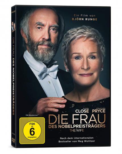 Die Frau des Nobelpreisträgers. DVD.