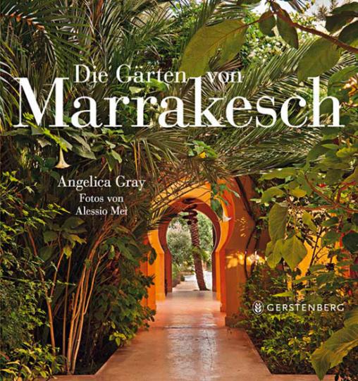 Die Gärten von Marrakesch.