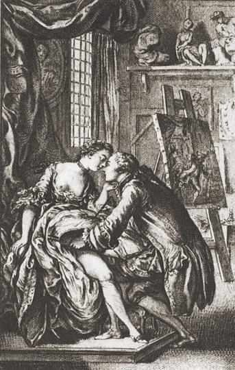 Die galanten Stecher des XVIII. Jahrhunderts in Frankreich. Band 1 + 2.