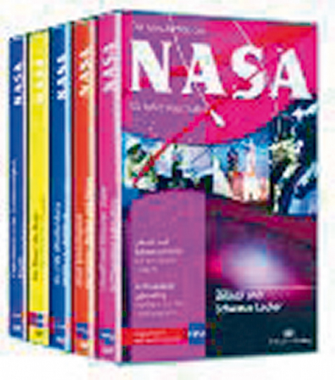 NASA Edition. 5 DVDs.