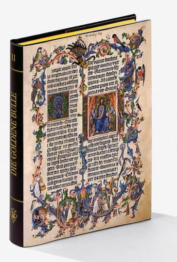 Die Goldene Bulle. Mit einem originalen Faksimile-Blatt.
