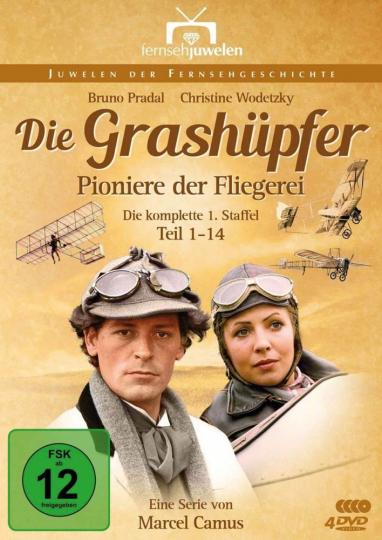 Die Grashüpfer. 4 DVDs.
