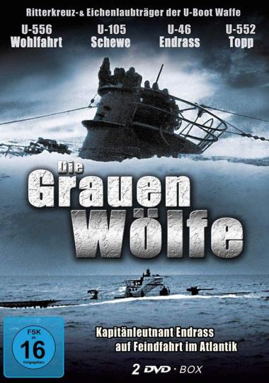 Die Grauen Wölfe. Deutsche U-Boote im 2. Weltkrieg. 2 DVDs.
