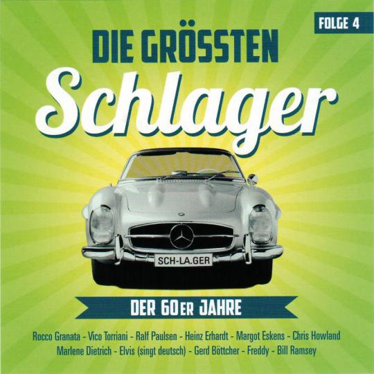 Die größten Schlager der 60er Jahre. Folge 4. CD.