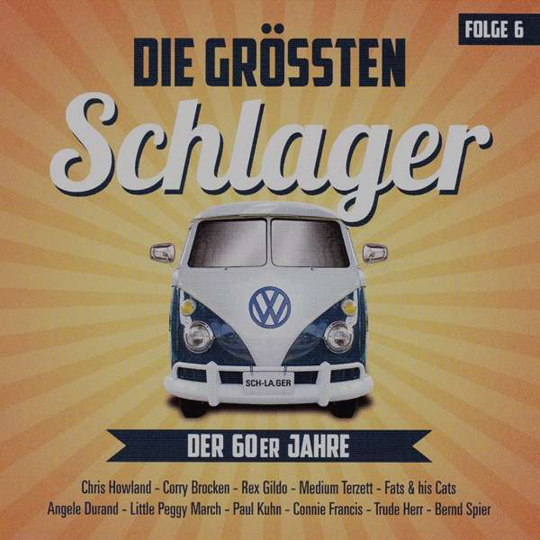 Die größten Schlager der 60er Jahre. Folge 6. CD.