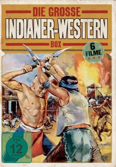 Die große Indianer-Western Box 2 DVDs