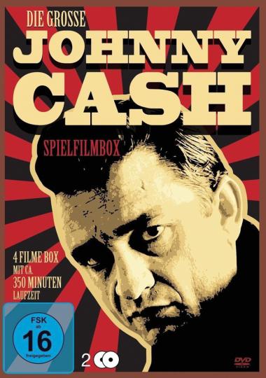 Die große Johnny Cash Spielfilmbox. 2 DVDs.