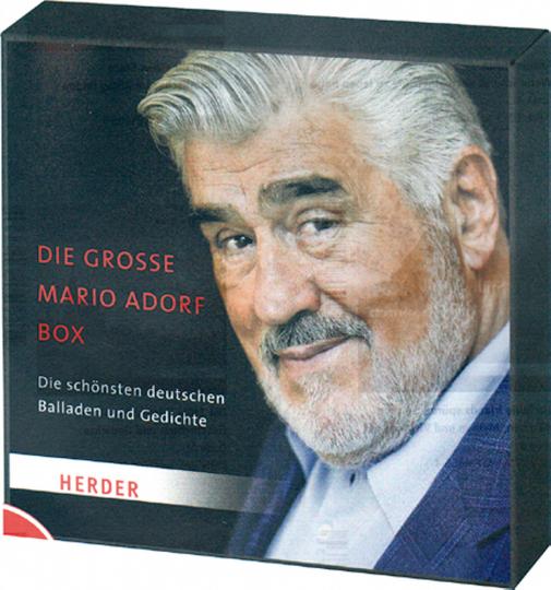 Die große Mario Adorf Box - Die schönsten deutschen Balladen und Gedichte 3 CDs