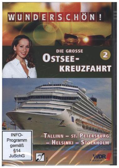 Die große Ostsee-Kreuzfahrt - Teil 2: Tallinn, St. Petersburg, Helsinki, Stockholm DVD