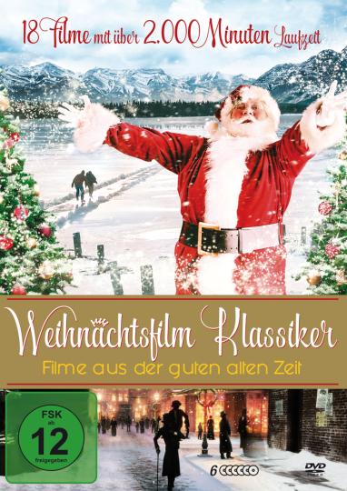 Die große Weihnachtsfilm-Kollektion. 6 DVDs.