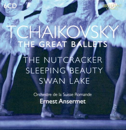 Die großen Ballette 6 CDs