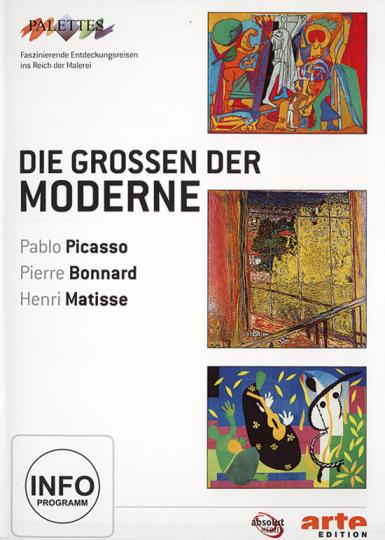 Die Großen der Moderne. DVD.