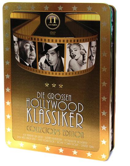 Die großen Hollywood Klassiker. 2 DVDs.