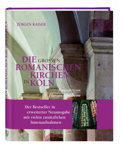 Die großen romanischen Kirchen in Köln.