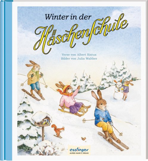 Die Häschenschule 5. Winter in der Häschenschule.