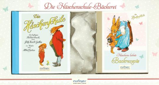 Die Häschenschule-Bäckerei. Häschens liebste Backrezepte. Backset.