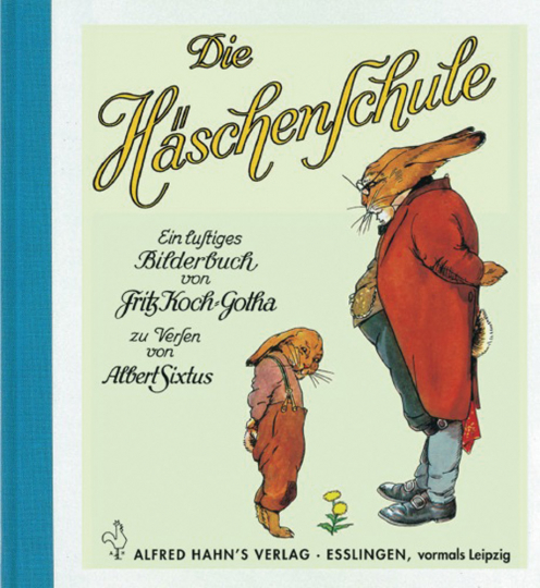 Die Häschenschule. Ein lustiges Pop-up-Buch.