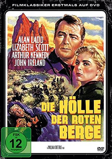 Die Hölle der roten Berge. DVD.
