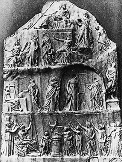 Die Ikonographie des Themas Parnass vor Raffael.