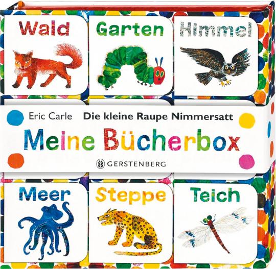 Die kleine Raupe Nimmersatt. Bücherbox.